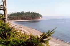 Beach at Camp Indanola