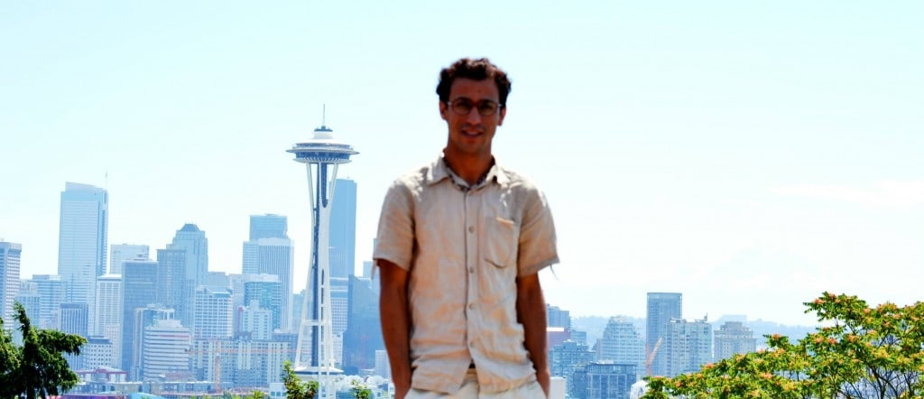 Habib at Kerry Park, Seattle