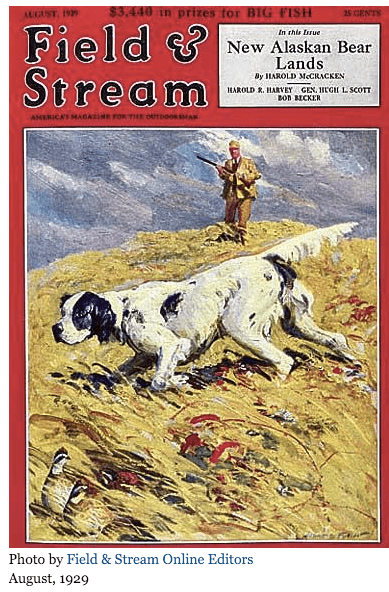 Field And Stream Cover 1929