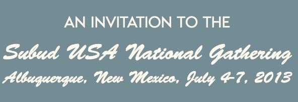 National Gathering Banner