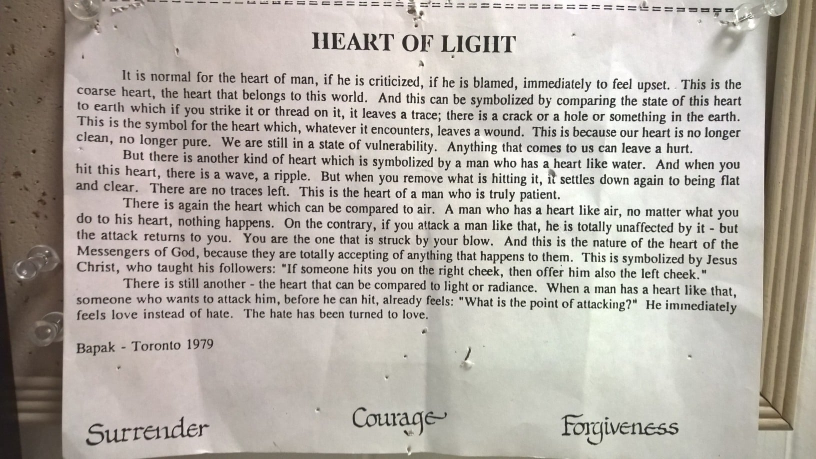Bapak on Heart of Fire